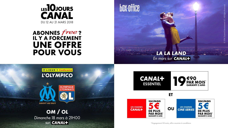 Les 10 Jours Canal 2 Offres Speciales Sur La Freebox News
